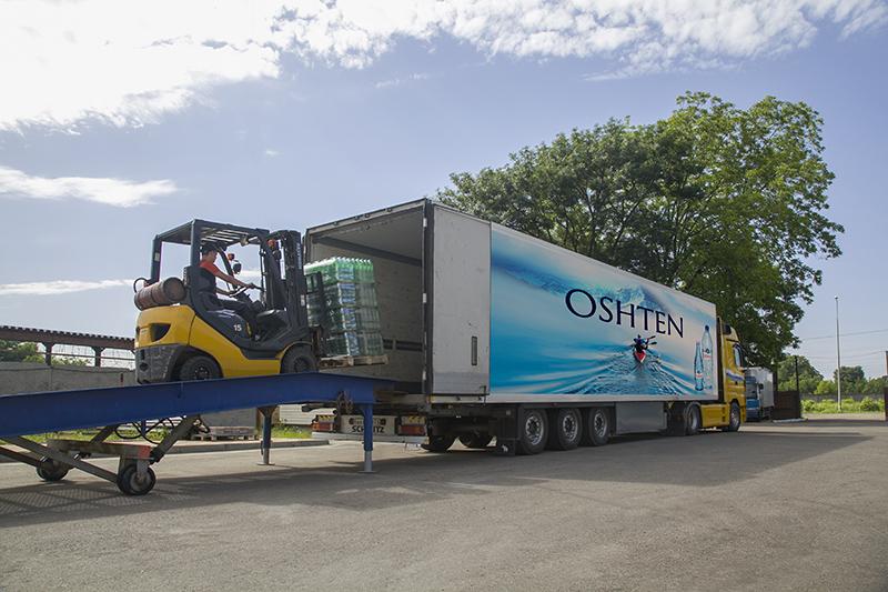 Налажена поставка минеральной воды «Оштен» в Ростовскую область и республику Ингушетия