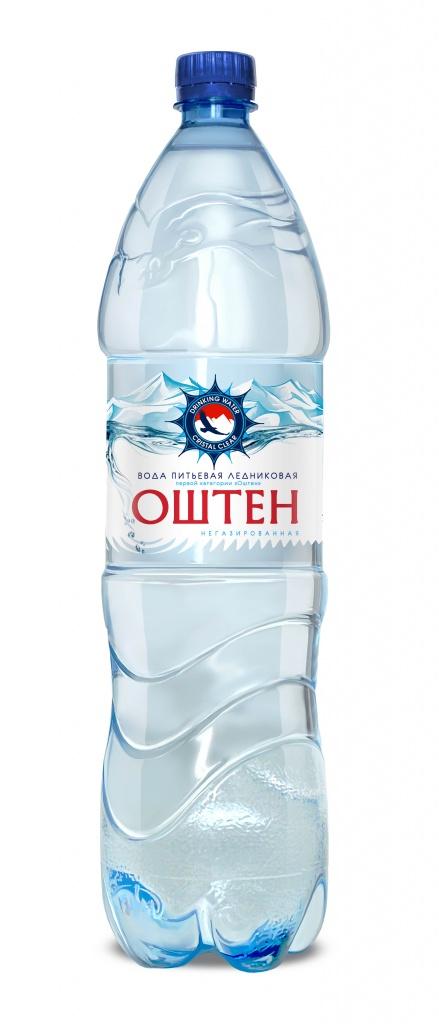 Вода негазированная «Оштен» 1,5 л, ПЭТ